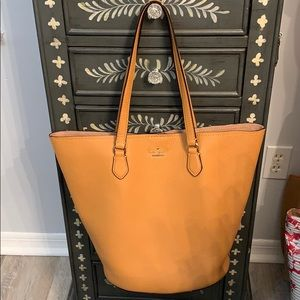NWT Kate Spade leather tote.